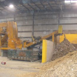 Horizontal Grinder for Material Grinding